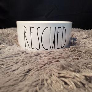 Rae Dunn Rescued Pet Bowl